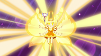S3E7 Star Butterfly's new mewberty form