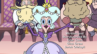 S3E10 Queen Moon 'welcome to the Silver Bell Ball'