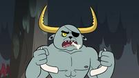 S2E12 Dogbull reveals his sharpened horns