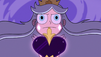 S3E2 Queen Moon aims her black wand at Toffee