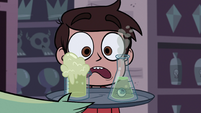 S1E8 Marco looking at free samples