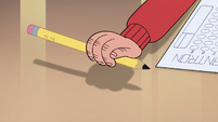 S3E32 Marco Diaz picking up the pencil again