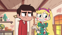 S2E19 Star Butterfly 'trying to bury the hammer'