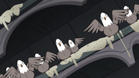 S3E20 More pigeons squawking with cheer