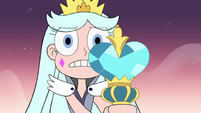 S3E2 Queen Moon trembling before monsters
