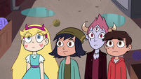 S4E30 Star and her friends look at Needles