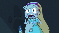 S3E11 Star Butterfly looking shocked at Rhombulus