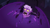S3E38 Meteora being trapped in a black sphere