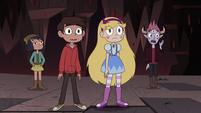 S4E13 Star and her friends observing Relicor