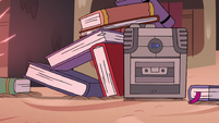 S4E12 Cassette player playing a love song