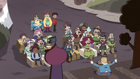 S4E1 Audience laughing at Butterfly Follies