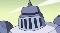 S4E33 Solarian Warrior looking menacing