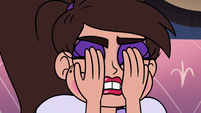 S3E16 Marco Diaz covering his face in shame