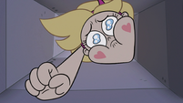 S3E8 Star Butterfly watches hoodie fall down the chute