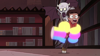 S4E13 Marco and Relicor caught by Rainbow Fist