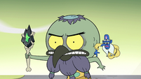 S2E35 Glossaryck helps Ludo with his arm position