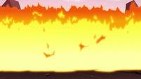 S2E12 Wall of flames