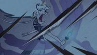 S3E38 Moon's tapestry ripped to shreds