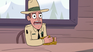 S2E10 Park ranger 'if you want to see that old geyser'
