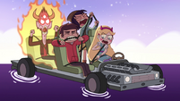 S4E31 Star and friends still struggle with seatbelts
