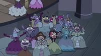 S3E16 Princesses cheer over Miss Heinous' departure