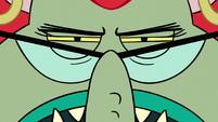 S2E32 Close-up on Miss Skullnick's angry face