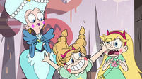S4E1 Fake Star appears between Star and Fake Moon