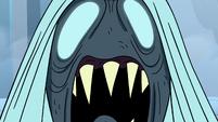 S4E5 Close-up on shrieking Wraith