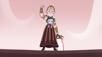 S4E35 Queen Solaria rallying the villagers to fight