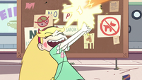 S2E7 Star Butterfly making fireworks