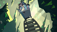 S1E12 Escapees at the top of a hill