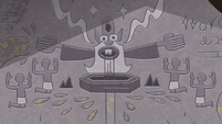 S4E30 Glossaryck depicted in hieroglyphics