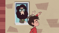 S2E24 Marco high-fives the bearded hipster dude
