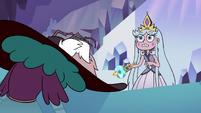 S3E2 Queen Moon hears Eclipsa muttering