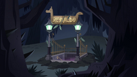 S4E17 River of Time entrance rises from the ground