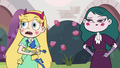 S3E11 Star and Eclipsa hear an incoming noise
