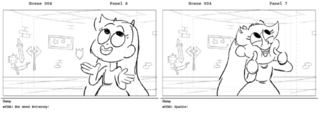 Face the Music storyboard 2 by Amelia Lorenz