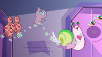 S2E22 Horntopuses and flying snall bounce on bubbles
