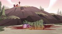 S3E38 Meteora falling into the Underworld