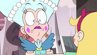 S4E1 Fake Moon wide-eyed with shock