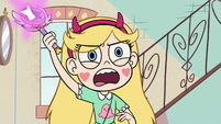 S2E8 Star about to cast Sunshine Friendship Spell