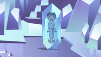 S2E34 Marco Diaz still frozen in crystal