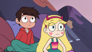 S3E14 Star Butterfly and Marco in the pile of clothes