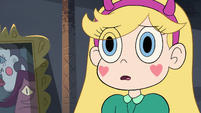 S3E32 Star Butterfly looking worriedly at Marco