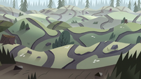 S2E10 Forest trail with winding paths