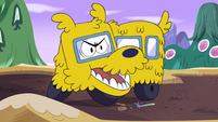 S4E12 Dog bus barking at Marco and Kelly