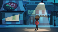 S2E19 Marco Diaz leaving into the night