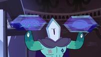 S4E4 Rhombulus twirling frozen narwhals