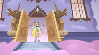 S3E21 Star Butterfly angrily leaving the castle