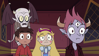 S4E13 Star and friends notice the elevator stop
